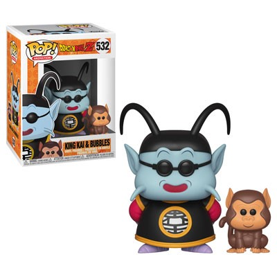POP! Animation: Dragonball Z - King Kai & Bubbles Vinyl Figure #532