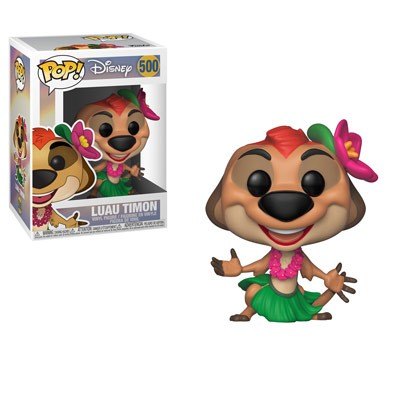 [PRE-SALE] POP! Disney: The Lion King - Luau Timon Vinyl Figure #500 [Ships in January]