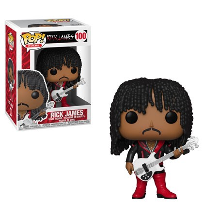[PRE-SALE] POP! Rocks: Rick James - Rick James (Super Freak) Vinyl Figure #100 [Ships in January]