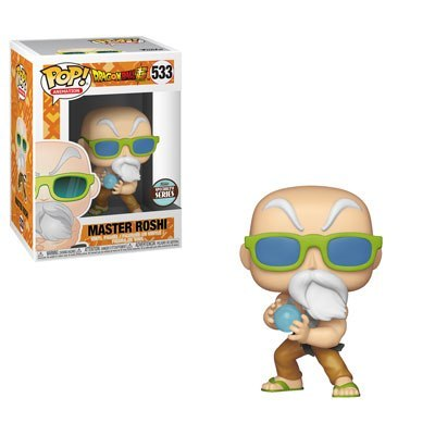 POP! Animation: Dragonball Super - Master Roshi (Max Power) Vinyl Figure #533 (Funko Specialty Series)