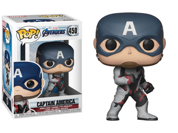 POP! Marvel: Avengers: Endgame - Captain America Vinyl Bobblehead Figure #450