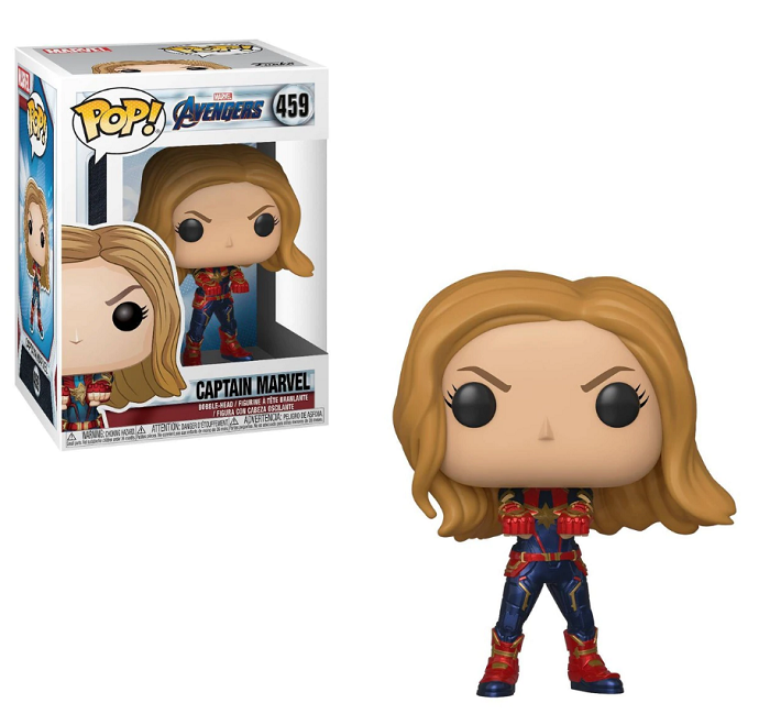 POP! Heroes: Avengers Endame - Captain Marvel Vinyl Figure #459
