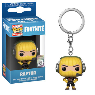 [PRE-SALE] POP! Keychain: Fortnite - Raptor Keychain [Ships in December]