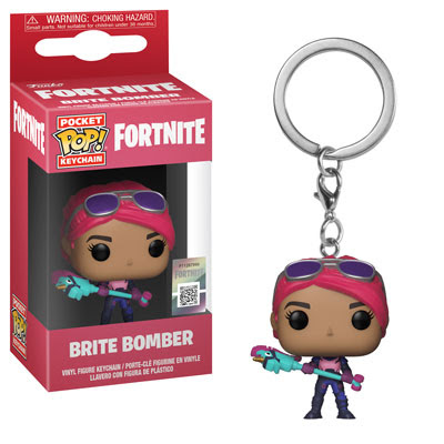 [PRE-SALE] POP! Keychain: Fortnite - Brite Bomber Keychain [Ships in December]