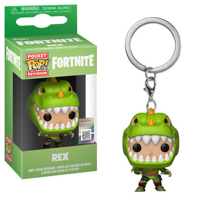 [PRE-SALE] POP! Keychain: Fortnite - Rex Keychain [Ships in December]