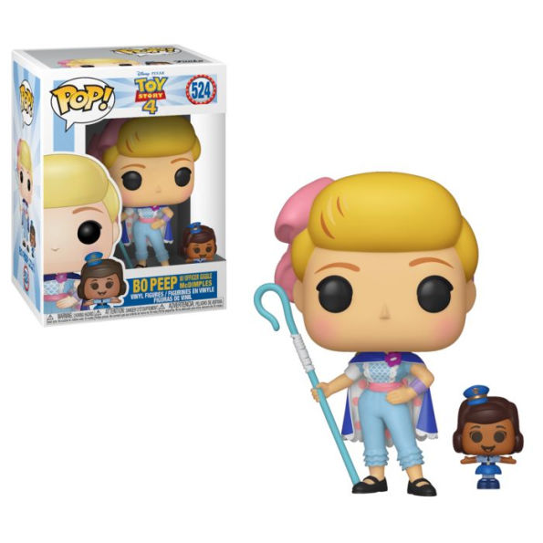 POP! Disney: Toy Story 4 - Bo Peep w/ Officer McDimples Vinyl Figure #524