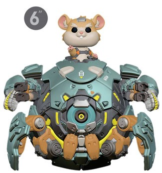 [PRE-SALE] POP! Games: Overwatch - Wrecking Ball 6