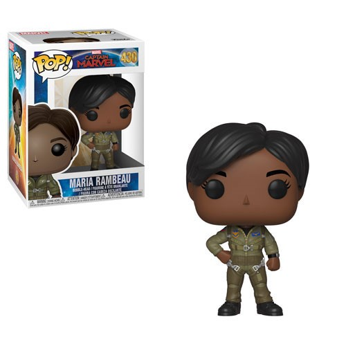[PRE-SALE] POP! Heroes Marvel - Captain Marvel - Maria Rambeau Vinyl Bobblehead Figure #430 [Ships in January]