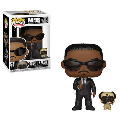 POP! Movies: Men in Black - Agent J & Frank Vinyl Figure #715