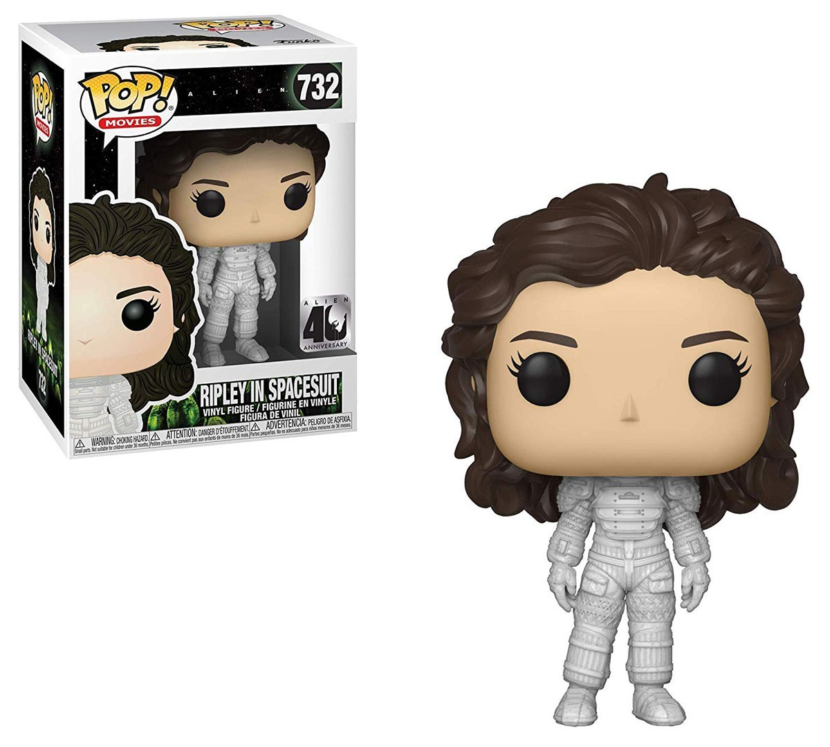 POP! Movies: Alien 40th Anniversary - Ripley in Spacesuit Vinyl Figure #732