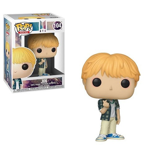POP! Rocks: BTS - Jin Vinyl Figure #104