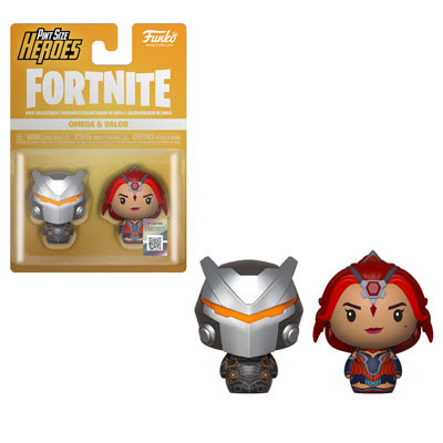 [PRE-SALE] Funko PSH: Fortnite - Omega & Valor Vinyl Figure 2-Pack [Ships in December]