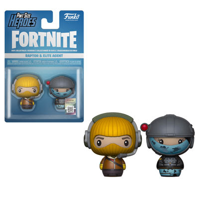 [PRE-SALE] Funko PSH: Fortnite - Raptor & Elite Agent Vinyl Figure 2-Pack [Ships in December]