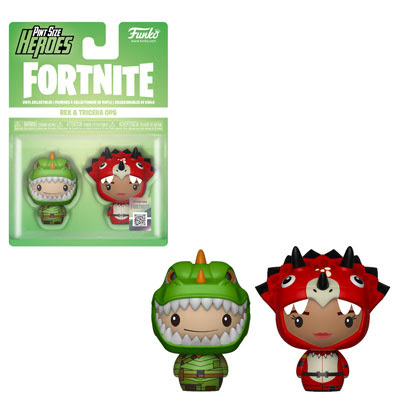 [PRE-SALE] Funko PSH: Fortnite - Rex & Tricera Ops Vinyl Figure 2-Pack [Ships in December]