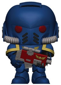[PRE-SALE] POP! Games: Warhammer 40k - Space Wolves Pack Leader Vinyl Figure [Ships in May]