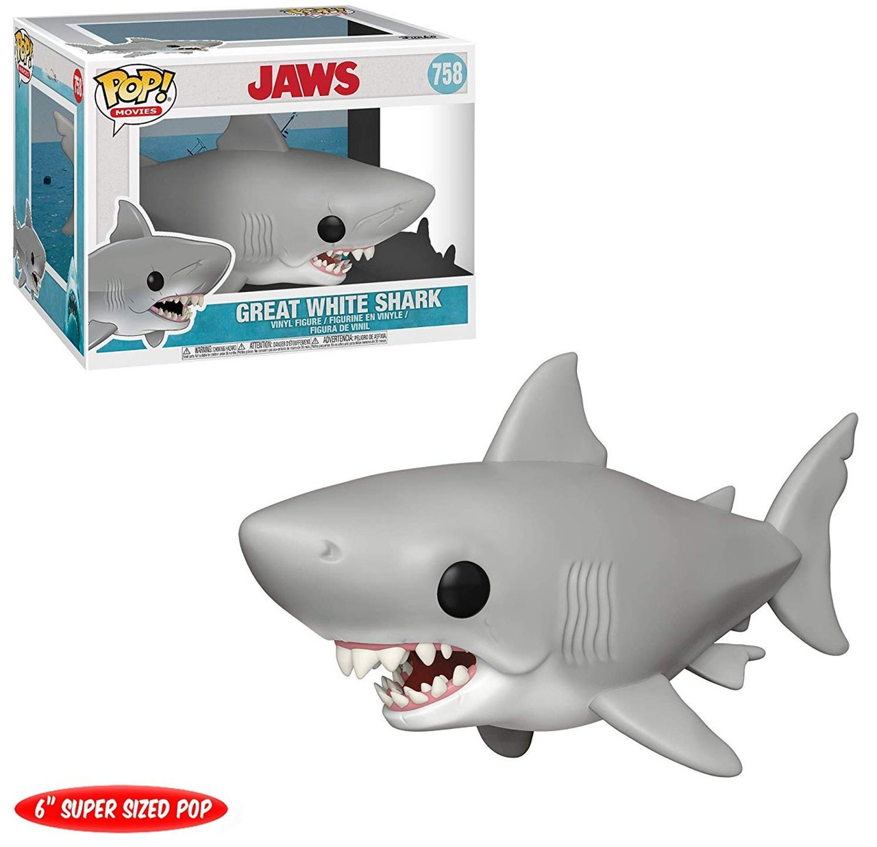POP! Movies: Jaws - Great White Shark 6