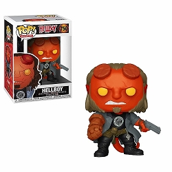 POP! Movies: Hellboy - Hellboy w/ BPRD Shirt Vinyl Figure #750