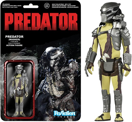 Funko ReAction: Predator - Masked Predator Action Figure