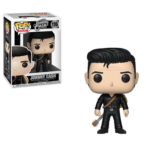 POP! Rocks: Johnny Cash in Black Vinyl Figure #116