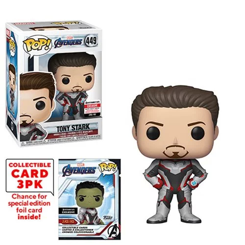 POP! Marvel: Avengers: Endgame - Tony Stark Vinyl Bobblehead Figure #449 (Entertainment Earth Exclusive)