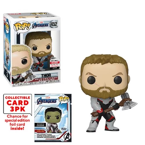 POP! Marvel: Avengers: Endgame - Thor Vinyl Bobblehead Figure #452 (Entertainment Earth Exclusive)