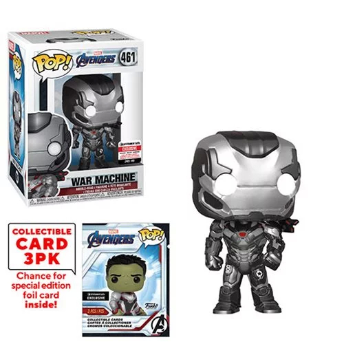 POP! Marvel: Avengers: Endgame - War Machine Vinyl Bobblehead Figure #461 (Entertainment Earth Exclusive)