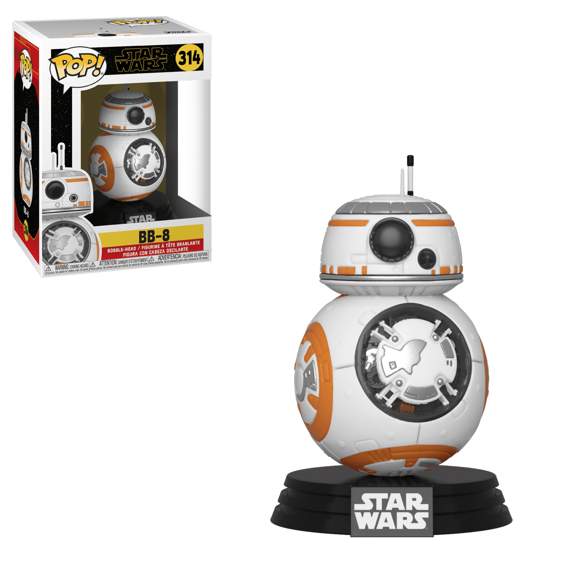 POP! Star Wars: The Force Awakens - BB-8 Vinyl Bobblehead Figure #314