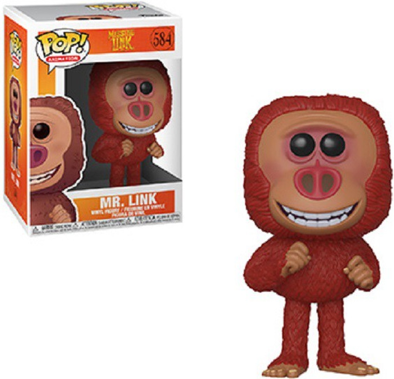 POP! Animation: Missing Link - Mr. Link Vinyl Figure #584