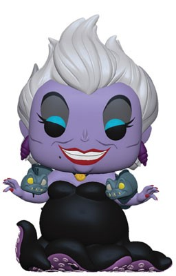 [PRE-SALE] POP! Disney: The Little Mermaid - Ursula w/ Eels Vinyl Figure [Ships in July]