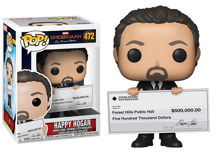 POP! Marvel: Spider-Man: Far From Home - Happy Hogan Vinyl Bobblehead Figure #472