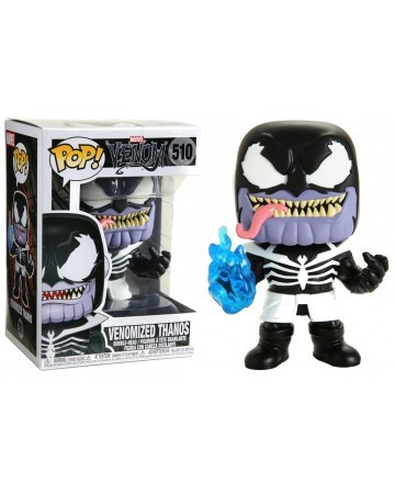 POP! Heroes: Marvel Venom - Venomized Thanos Vinyl Figure #510