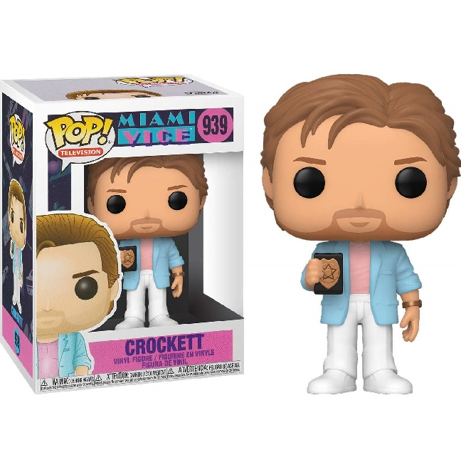 POP! Television: Miami Vice - Crockett #939 Vinyl Figure