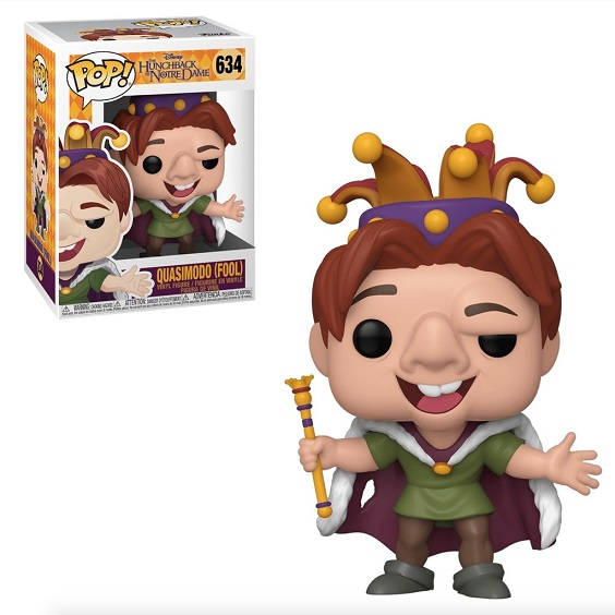 POP! Disney: The Hunchback Of Notre Dame - Quasimodo (Fool) #634 Vinyl Figure