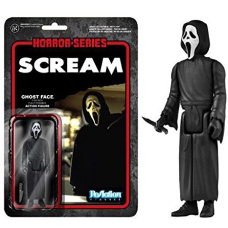 Funko ReAction: Scream - Ghostface Action Figure