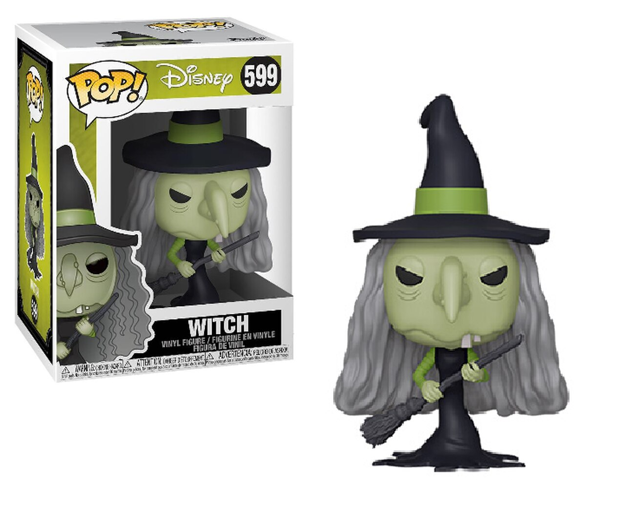 POP! Disney: Nightmare Before Christmas - Witch Vinyl Figure #599