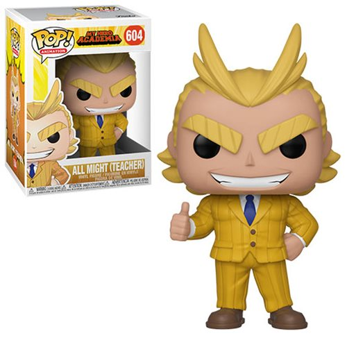 POP! Animation: My Hero Academia - All Might (Teacher) Vinyl Figure #604