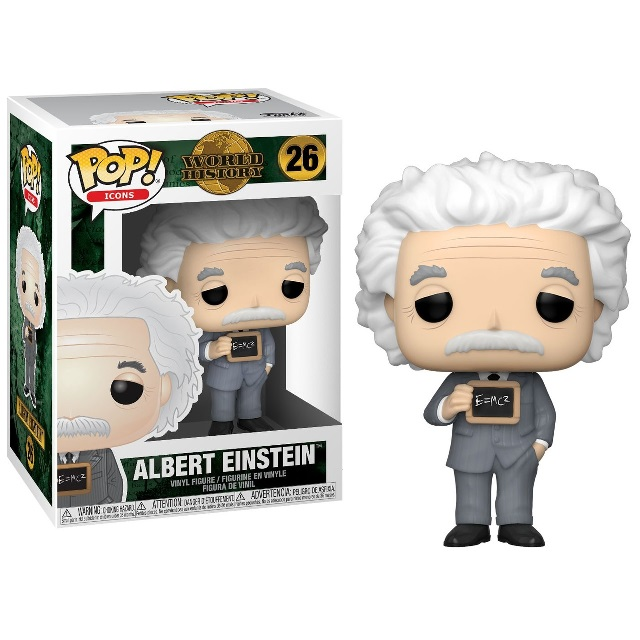 POP! Television: Icons World History - Albert Einstein Vinyl Figure #26