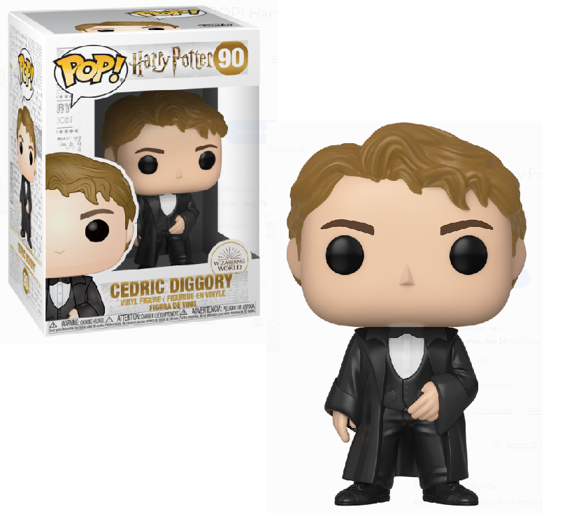 POP! Movies: Harry Potter - Cedric Diggory (Yule) Vinyl Figure #90