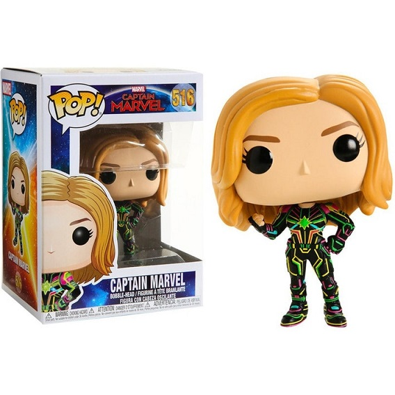 POP! Heroes: Captain Marvel - Captain Marvel Vinyl Figure #516