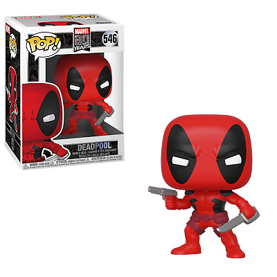POP! Heroes: Marvel 80 Years -  Deadpool Vinyl Figure #546