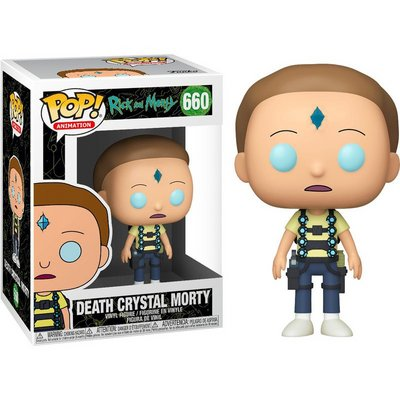 POP! Animation: Rick and Morty - Death Crystal Morty #660