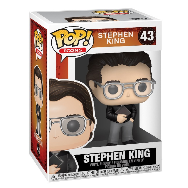 POP! Icons: Stephen King #43 Vinyl Figure
