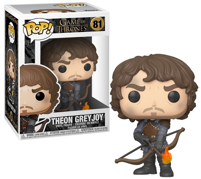 POP! Television: Game Of Thrones - Theon Greyjoy Vinyl Figure #81