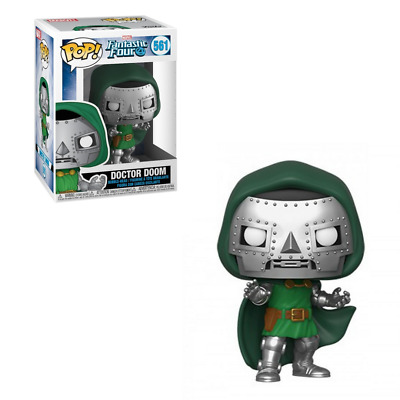POP! Heroes: Marvel Fantastic Four - Doctor Doom Vinyl Figure #561