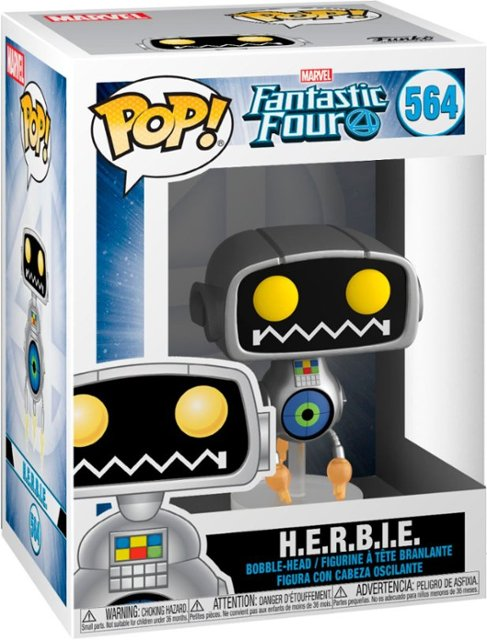 POP! Heroes: Marvel Fantastic Four - H.E.R.B.I.E. Vinyl Figure #564
