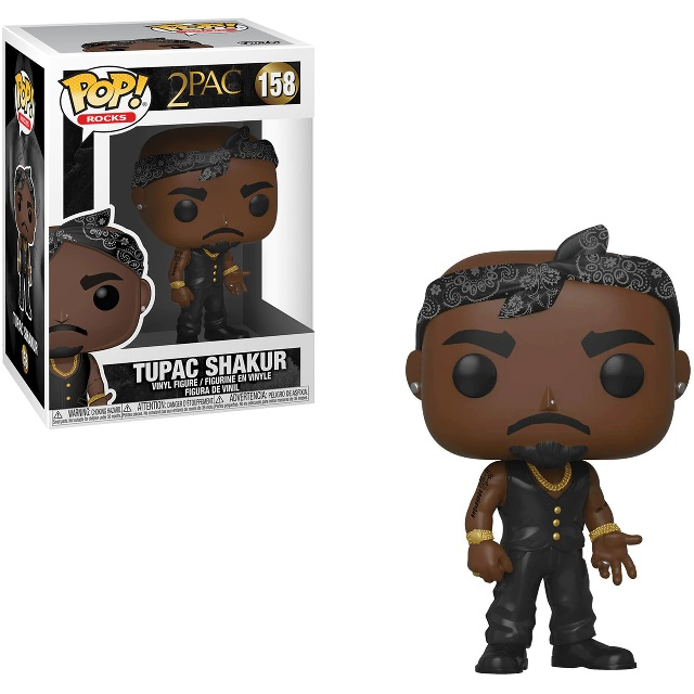 POP! Rocks: Tupac Shakur #158 Vinyl Figure