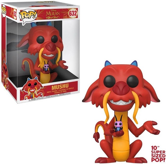 POP! Disney: Mulan - Mushu #632 10 Inch Vinyl Figure