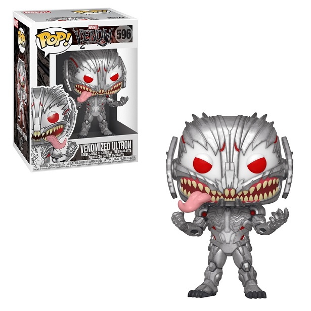 POP! Heroes: Marvel Spider-Man Maximum Venom - Venomized Ultron #596 Vinyl Figure