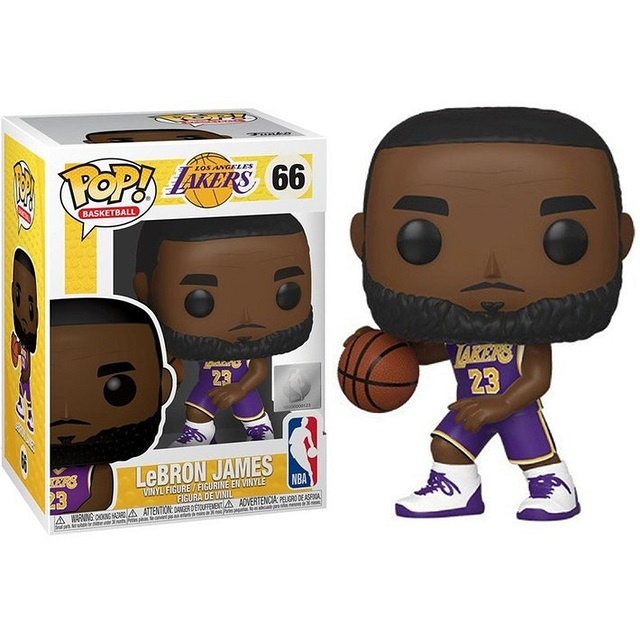 POP! Basketball: Los Angeles Lakers - LeBron James #66 Vinyl Figure