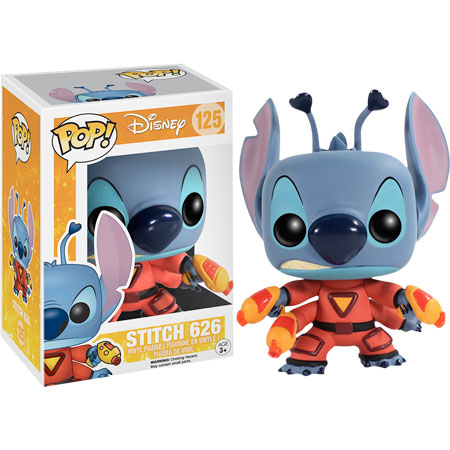 POP! Disney: Lilo & Stitch - Stitch 626 Vinyl Figure #125